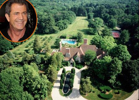 Biệt thự 33 triệu USD của Mel Gibson