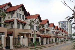 Giá đất nền dự án tại Hà Nội đi ngang
