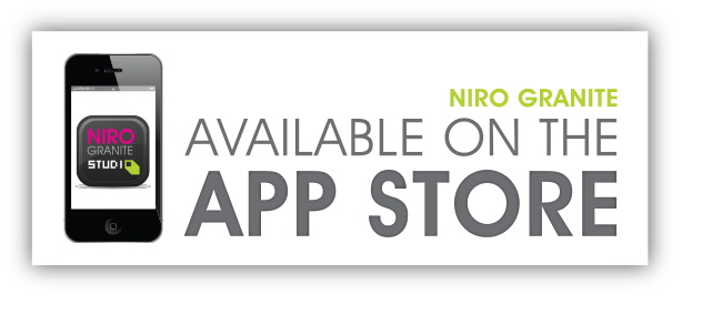"Niro Granite giới thiệu ứng dụng ""Niro Granite Studio"" trên App Store"