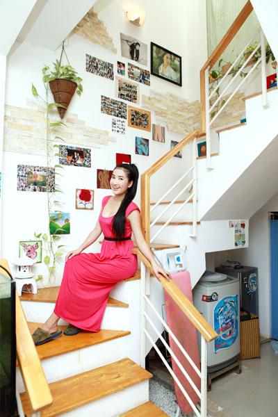 """Nhà kiểu """"ở ẩn"""" của diễn viên Quỳnh Lam"""
