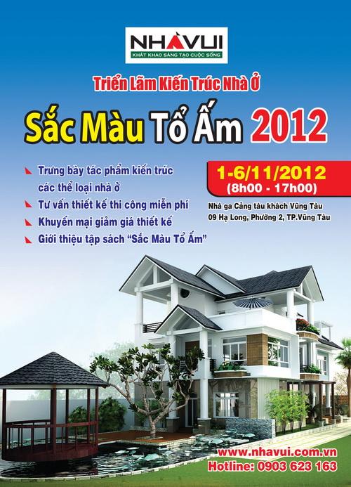 Triển lãm Kiến trúc Nhà ở - Sắc Màu Tổ Ấm 2012
