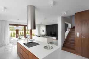 Thiết kế nhà ở với không gian nội thất sang trọng