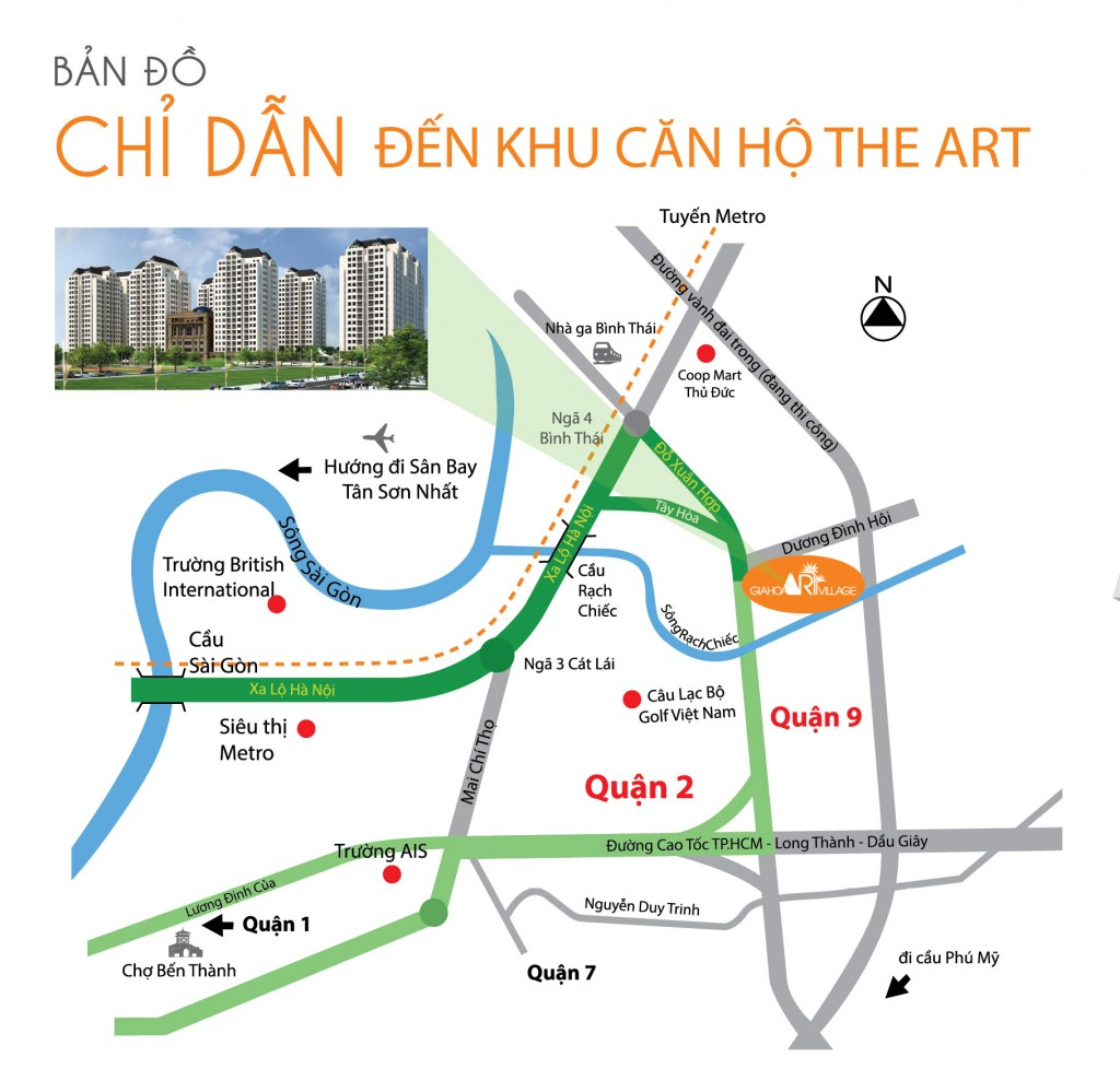 The Art quận 9