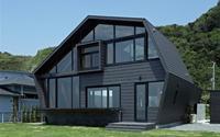 Độc đáo biệt thự gỗ đa giác
