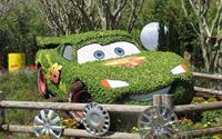 Tinh xảo nhân vật hoạt hình từ cây cỏ