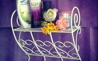 Kệ đựng đồ phong cách cho phòng tắm thêm xinh
