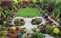 Ngất ngây với khu vườn bốn mùa ở Anh