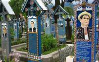 Nghĩa địa... vui vẻ ở Rumani