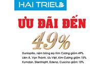 Nệm Hải Triều giảm giá đến 49% mừng khai trương chi nhánh thứ 3