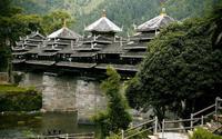 Ấn tượng kiến trúc cầu Phong Vũ của dân tộc Động