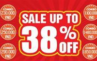 """CTKM showroom tháng 8: """"Tháng tiêu dùng siêu tiết kiệm- Sale up to 38% off"""""""