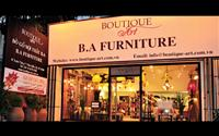"""Chất nghệ thuật của """"Boutique - Art"""" B.A Furniture"""