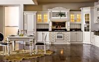 Tủ bếp cao cấp cho phòng bếp hiện đại tại Showroom Hùng Túy