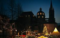 Sắc màu ấm áp trong chợ Giáng sinh ở Đức