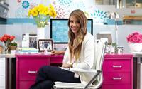 Trang trí văn phòng đẹp với Jessica Alba