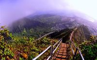 Nấc thang thiên đường ở Oahu
