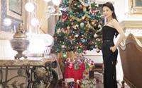 Á hậu Thái Như Ngọc đón Noel trong biệt thự triệu đô