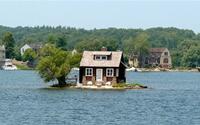 Những ngôi nhà, biệt thự độc đáo trên mặt nước tại quần đảo Thousand