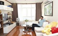 Minh Luân và căn hộ đơn giản như ý