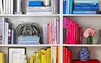 5 cách sắp xếp tủ sách