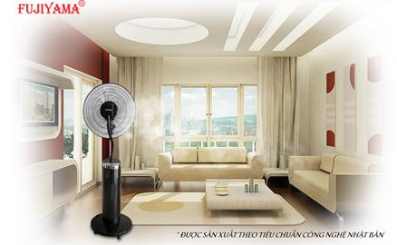 Quạt phun sương FUJIYAMA giải pháp tối ưu giải nhiệt mùa nóng