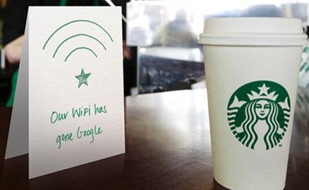 Starbucks - công nghệ đi đôi với cafe