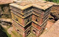 Nhà thờ khắc từ đá độc đáo ở Ethiopia