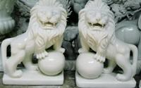 Cách đặt sư tử trước cổng nhà theo phong thủy