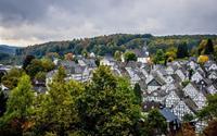 Những ngôi nhà khung gỗ thơ mộng ở Freudenberg