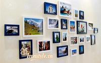 Trang trí nhà đẹp với bộ khung hình treo tường