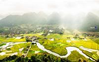 Ấn tượng thung lũng lúa Bắc Sơn