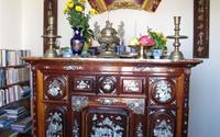 Cách bố trí bàn thờ mang lại may mắn, thịnh vượng