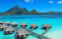 Đến thăm khu nghỉ dưỡng cao cấp bậc nhất thế giới trên đảo Bora Bora