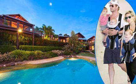 Chris Hemsworth mua khu nghỉ mát đẹp như mơ