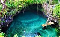 Thử cảm giác mạnh ở hồ bơi tự nhiên đẹp nhất thế giới