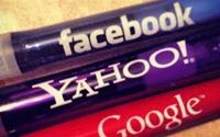 Yahoo, Google, Facebook: