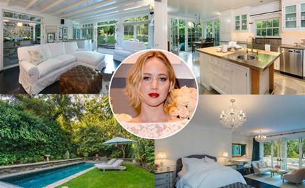 Biệt thự 7 triệu USD của Jennifer Lawrence