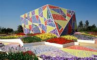 Bảo tàng ốp gốm sứ và công viên lát gạch mosaic