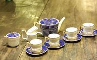 Ly uống trà với họa tiết vẽ và nung tuyệt đẹp