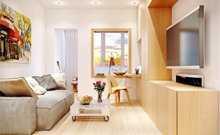 Hóa giải phong thủy cho căn hộ nhỏ thịnh vượng