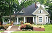 Vì sao không nên trồng cây to trước nhà?