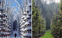 Kiến trúc tuyệt đẹp cho vườn cây nhà thờ