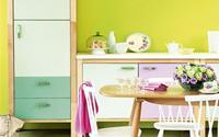 4 sắc màu sang trọng cho gian bếp hiện đại