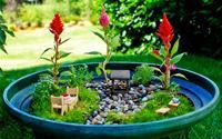 Chấm phá nét cổ tích cho sân vườn