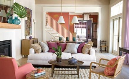 Trang trí nhà bắt mắt theo phong cách nhiệt đới