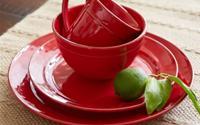 Phụ kiện bếp màu đỏ cho năm mới may mắn
