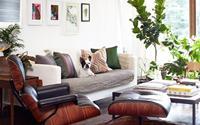 Thiết kế nội thất tuyệt đẹp với tường màu trắng