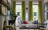 Ý tưởng trang trí nhà với nội thất màu xanh lục