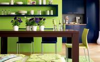 """Nhà bếp hiện đại với ý tưởng màu sơn đẹp """"miễn chê"""""""