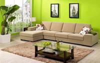 Bài trí ghế sofa đón may mắn vào nhà
